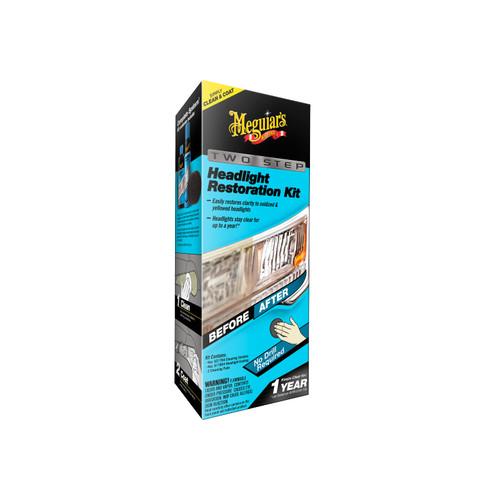Meguiars Two-Step Headlight Restotration Kit G2970