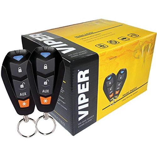 Viper 3400V 1 way Remote Control Alarm Security System