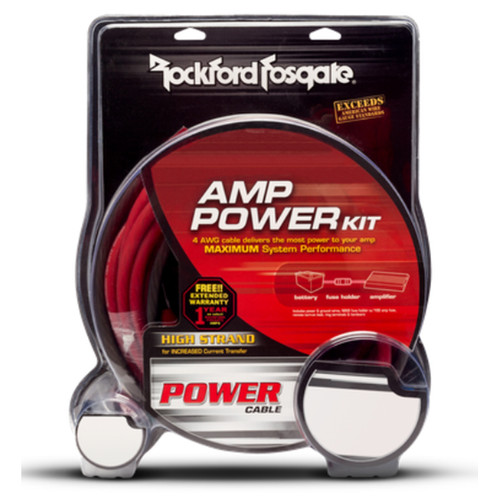 Rockford Fosgate RFK10 10 AWG Power Installation Kit