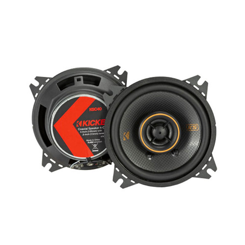 "Kicker 47KSC404 KS Series 4""150W 75W RMS Coaxial Speakers"