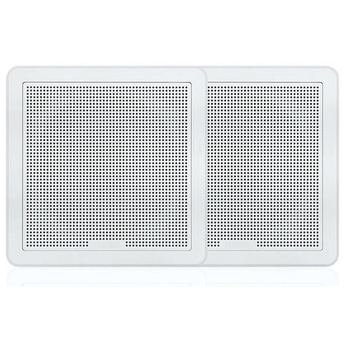 "Fusion FMF77SW Series 7.7"" 200 Watt Flush Mount Marine Speakers"
