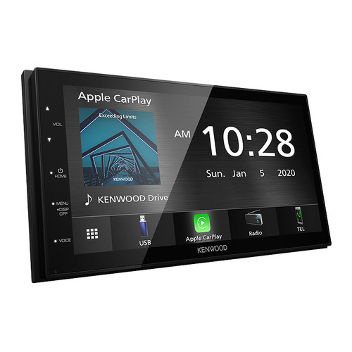 Kenwood DMX5020S Receiver with 6.8 Inch screen Apple Carplay and Android Auto