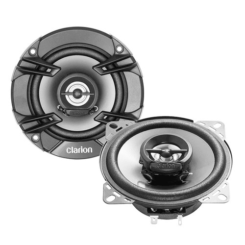 """Clarion SE1024R  4"""" 200W Coaxial 2 Way Speakers"""