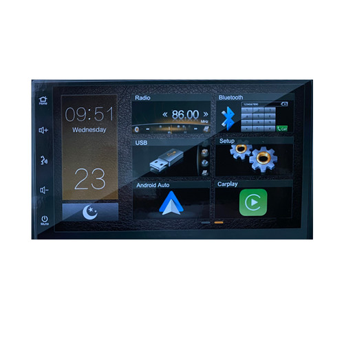 Mongoos Q7CA 7 Inch Multimedia unit with Android Auto and Apple Carplaylay