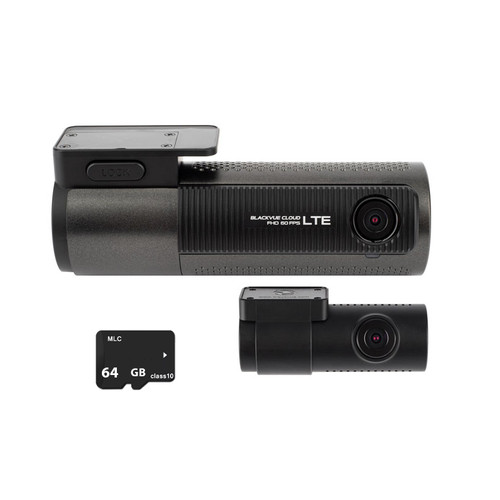 Blackvue DR750LTE-2CH LTE 4G Dash Cam with 64GB Memory Card