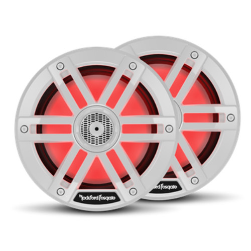 Rockford Fosgate M1 6.5 Color Optix Marine 2-Way Speakers - White