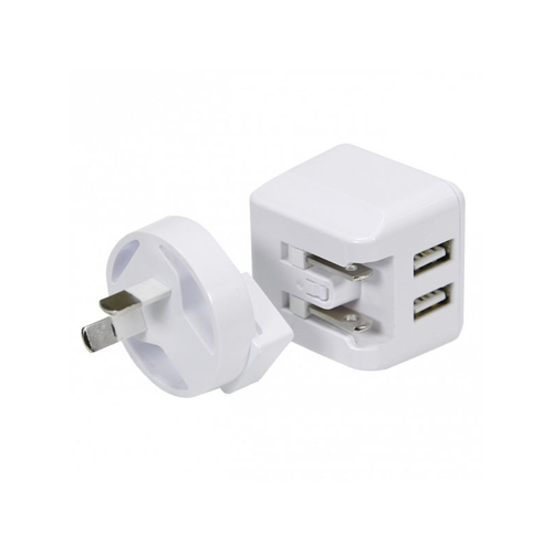 Aerpro ADM72A 240V AC Dual USB Charger