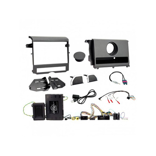 Aerpro FP8409KC Double Din install kit to suit landerover discovery 4 (small oem basic display)