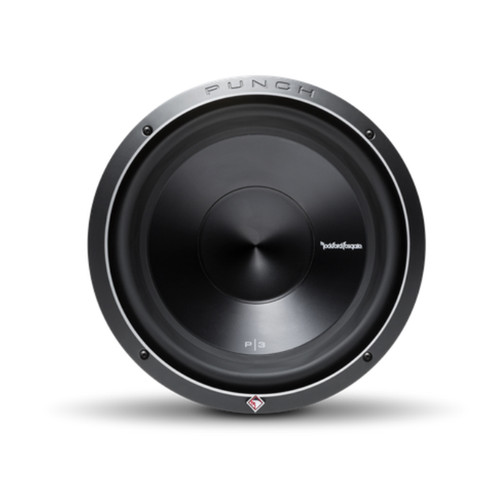 """Rockford Fosgate P3SD2-12  12"""" Punch P3 2-Ohm DVC Shallow Subwoofer"""