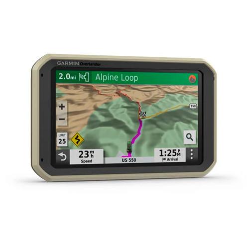 Garmin OVERLANDER On-Road Off-Road Military standard GPS navigation