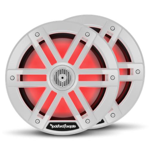 "Rockford Fosgate M18  M1 8"" Color Optix™ Marine 2-Way Speakers"