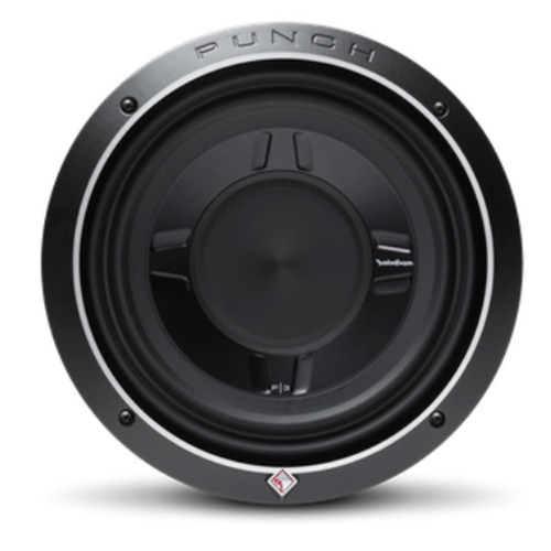 """Rockford Fosgate P3SD4-10  Punch 10"""" P3S Shallow 4-Ohm DVC Subwoofer"""