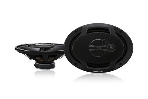 "Alpine SPJ-691C3 Type-J 6"" x 9"" Coaxial 3-Way Speakers"