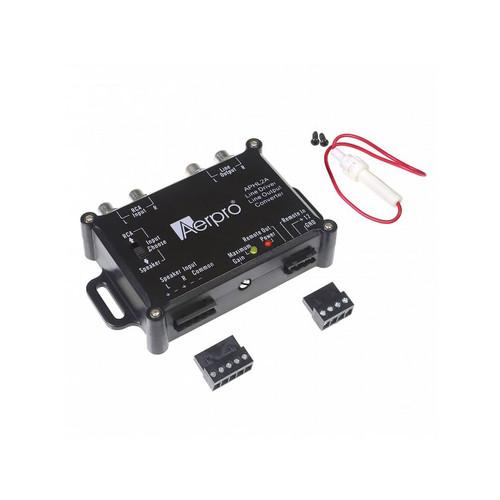 Aerpro APHL2A 2 CH Line Output Converter & Line Driver