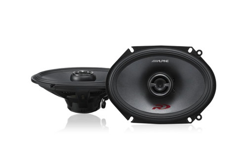 "Alpine RS-68 Type-R 6x8"" Coaxial 2-Way Speakers"