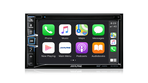 Alpine INE-W970A 6.5Inch Built-in Nav with Apple CarPlay / Android Auto With DVD and DAB+