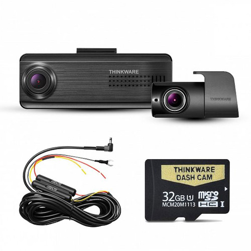 Thinkware F200 PRO Front and Rear Dash camera with 32GB memory Card