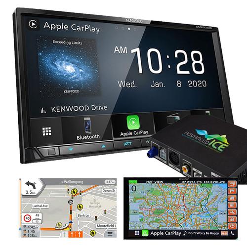 Kenwood DMX8020S AV Receiver with HEMA 4WD Navigation Android Auto Apple Carplay