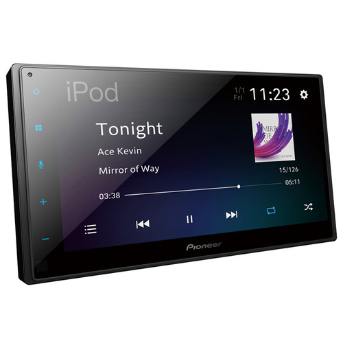 JUST RELEASED! Pioneer DMH-A4450BT 6.8″ Capacitive Touch Receiver with Apple CarPlay, Android Auto & BT