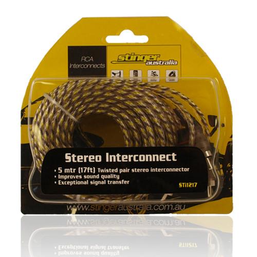 Stinger Australia  STI217 2 Channel 17ft RCA Lead