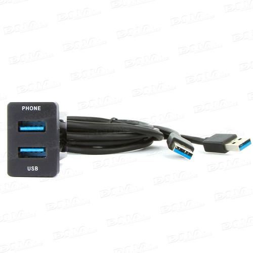 DNA Audio TOYUSB03 USB Adaptor Lead To Suit Toyota - Small