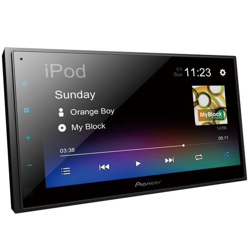 Pioneer DMH-A345BT 6.8″ Digital Media AV Receiver with BT, iPhone, USB & Aux