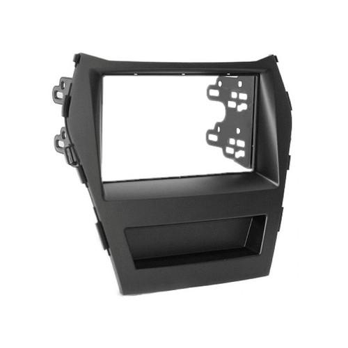 Aerpro FP8543 DDin Black Fascia kit to suit Hyundai Santa Fe (OEM Nav Model)