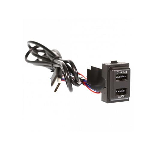 Aerpro APUSBJP1 Dual USB Charge / Sync Suit JEEP