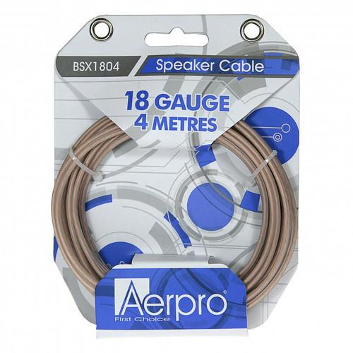 Aerpro BSX1804 18GA 4 Meter Speaker Cable