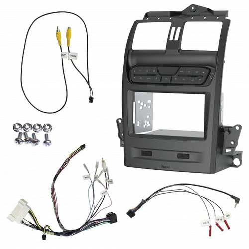 Aerpro FP9750GK Double Din Gunmetal Install kit to suit Ford Falcon BA-BF/ Territory SX/SY