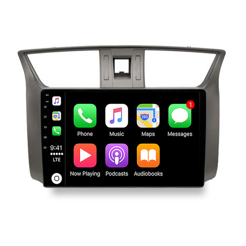 Hybrid Car Systems Nissan Pulsar 12-18 Compatible Wireless App Connect replacement solution