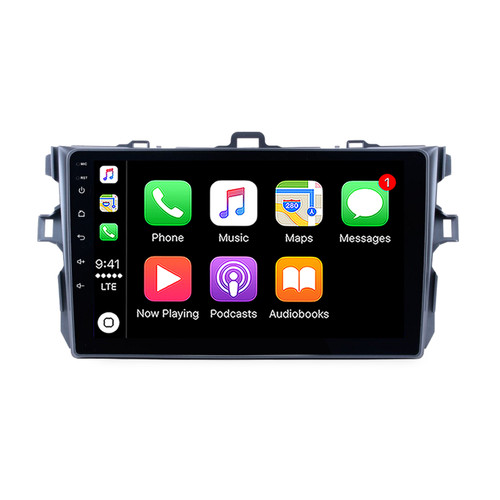 Hybrid Car Systems Toyota Corolla 08-11 Compatible Wireless App Connect replacement solution