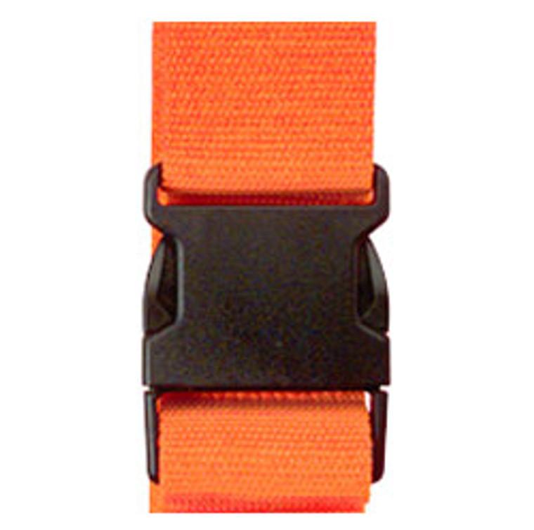 """Voltage Valet 80"""" Luggage Strap, Orange"""