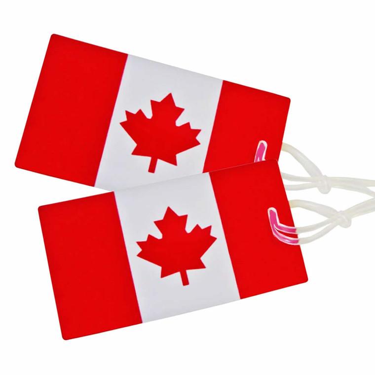 Samsonite Canadian Flag Luggage Tag - 2-Pack