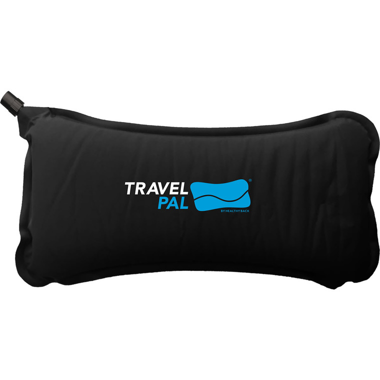Travel PAL Self-Inflating Back Pillow - Black