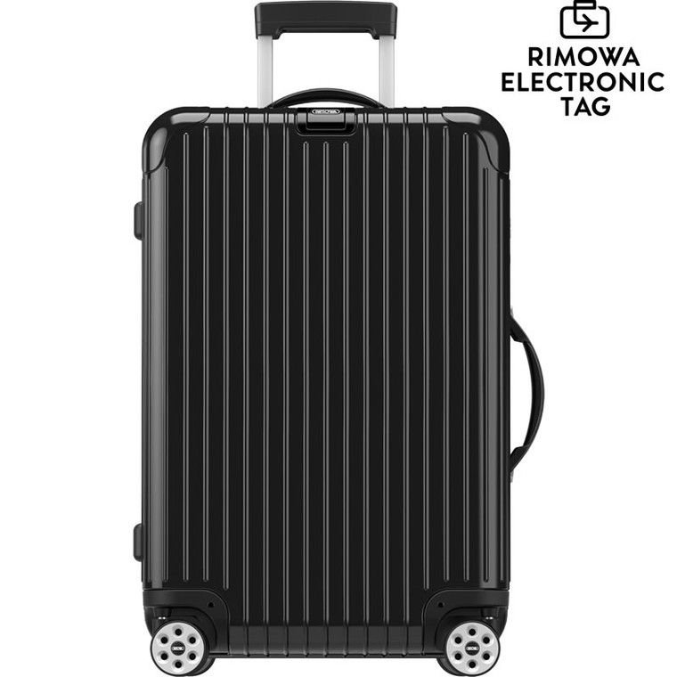 """Rimowa Salsa Deluxe - 32"""" Multiwheel, Electronic Tag - Glossy Black"""