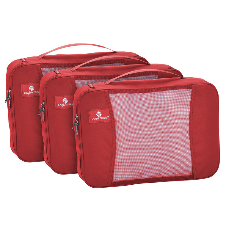 Eagle Creek Pack-It Original Cube Set - M/M/M - Red Fire