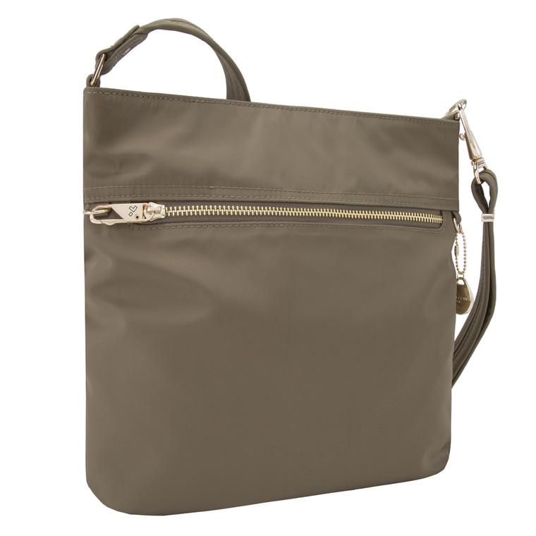 Travelon Anti-Theft Tailored N/S Slim Bag - Sable