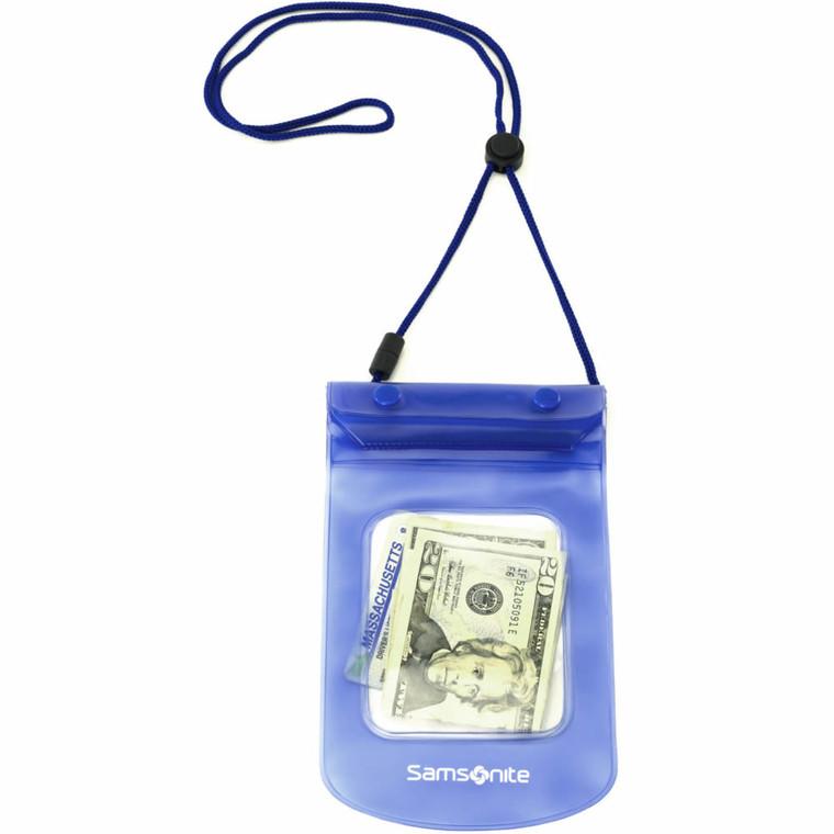 Samsonite Accessories Waterproof Pouch - Pagoda Blue