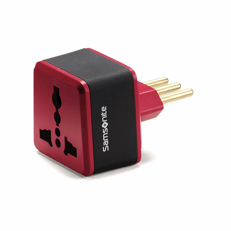 Samsonite Accessories Grounded Adapter Plug - Italy