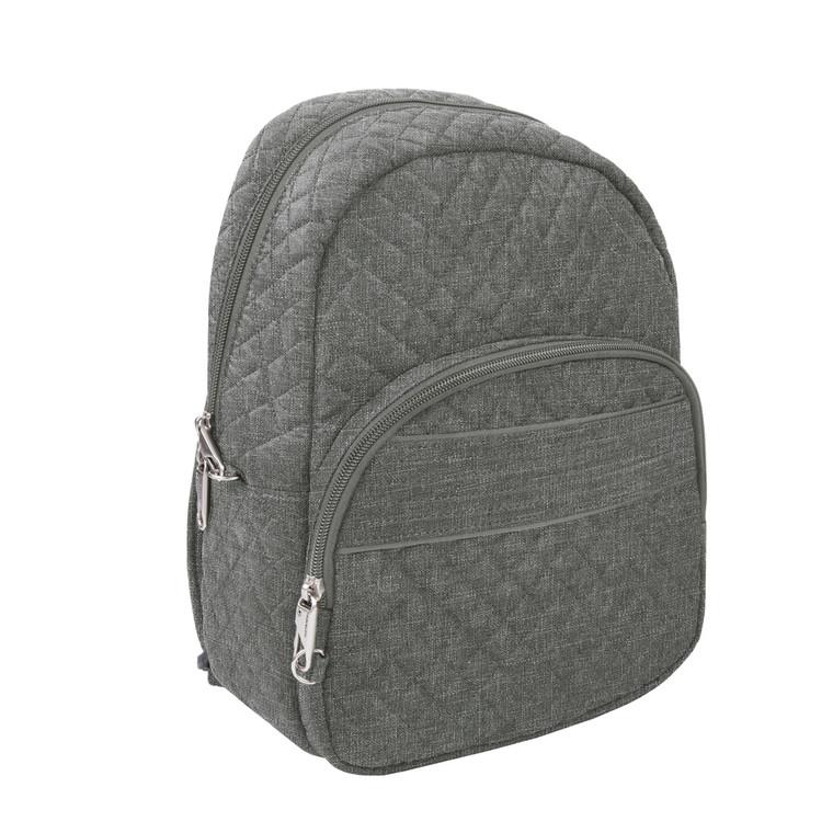 Travelon Anti-Theft Boho Backpack - Gray Heather
