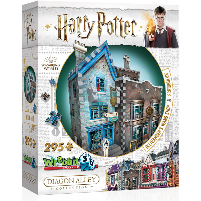 Harry Potter - Ollivander's Wand Shop & Scribbulus