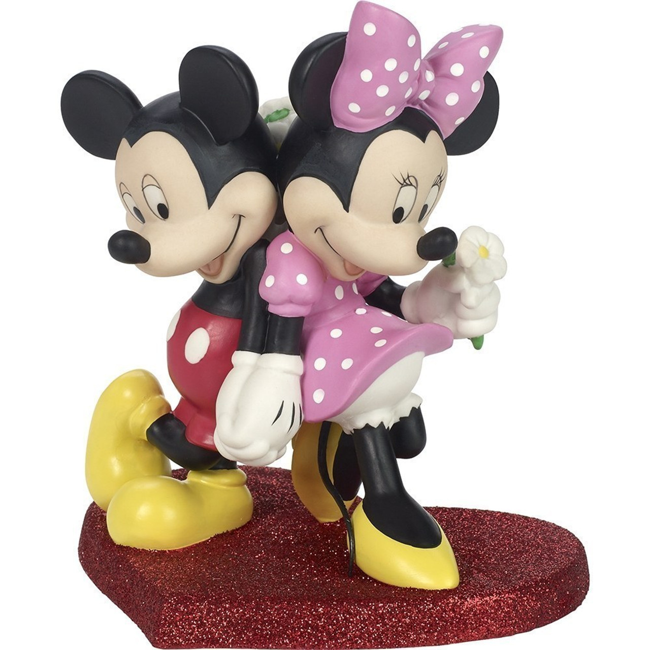 Disney Showcase Collection Lean On Me Mickey Mouse And Minnie