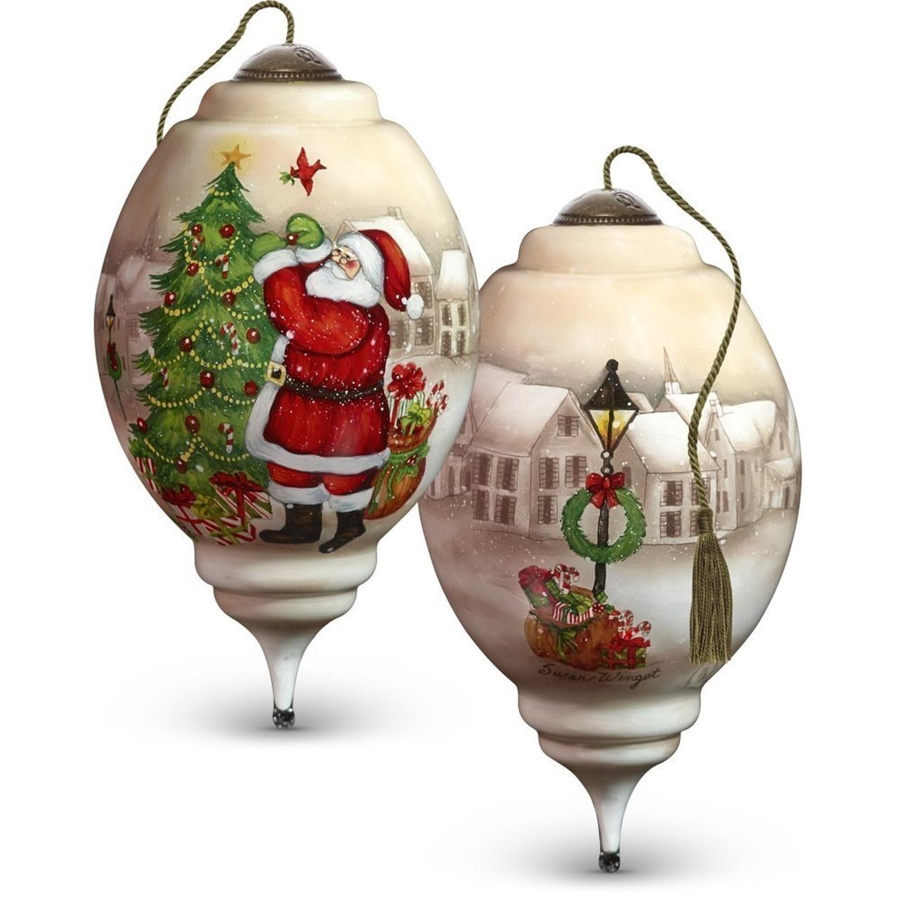 Christmas Gifts, Ne'Qwa Art® Hand Painted, Blown Glass ...