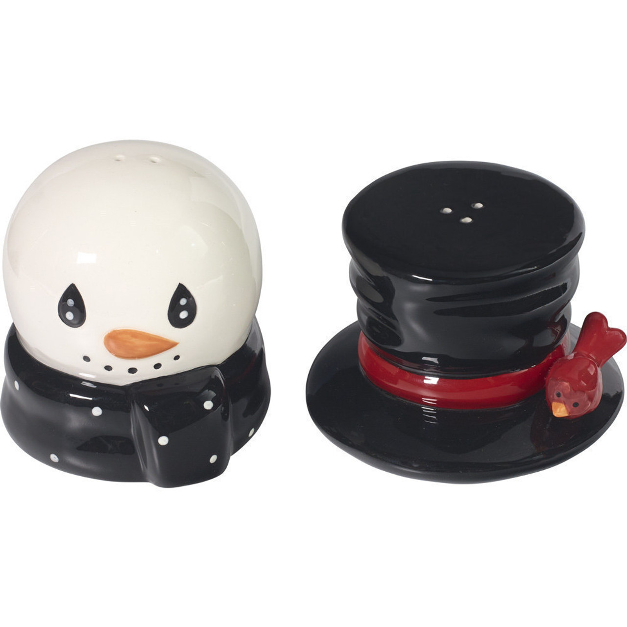 Christmas Gifts Snow Much Fun Snowman Salt And Pepper Shakers Ceramic 171474