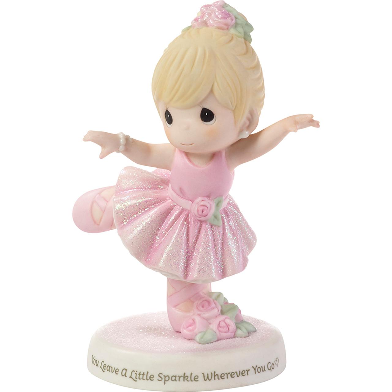 Precious Moments You Leave A Little Sparkle Wherever You Go Ballerina Figurine
