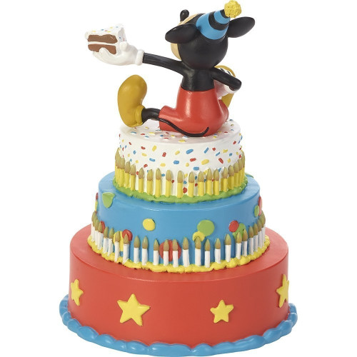 Terrific Disney Showcase Mickey Mouse Birthday Cake Led Tabletop Figurine Funny Birthday Cards Online Elaedamsfinfo