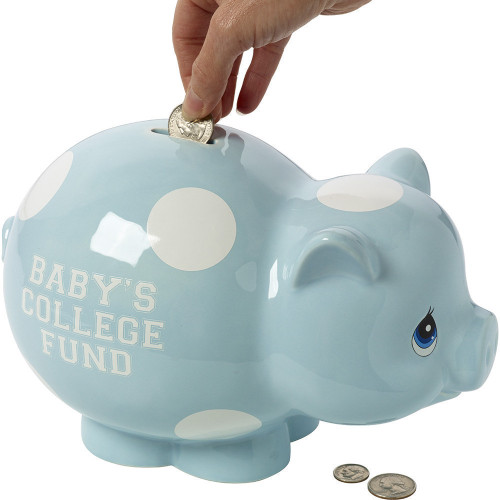 Baby Gifts Baby S College Fund Ceramic Piggy Bank Boy