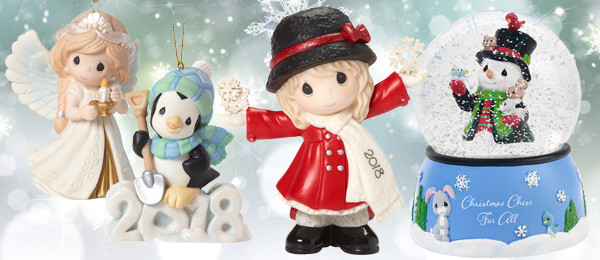 2018 Dated Christmas Ornaments Annual Figurines And More Available Now Precious Moments Co Inc