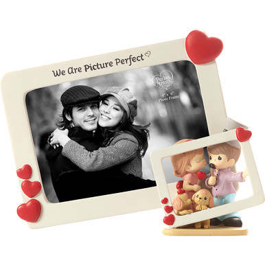 Precious Moments Resin Figurine, We Are Picture Perfect Photo Frame